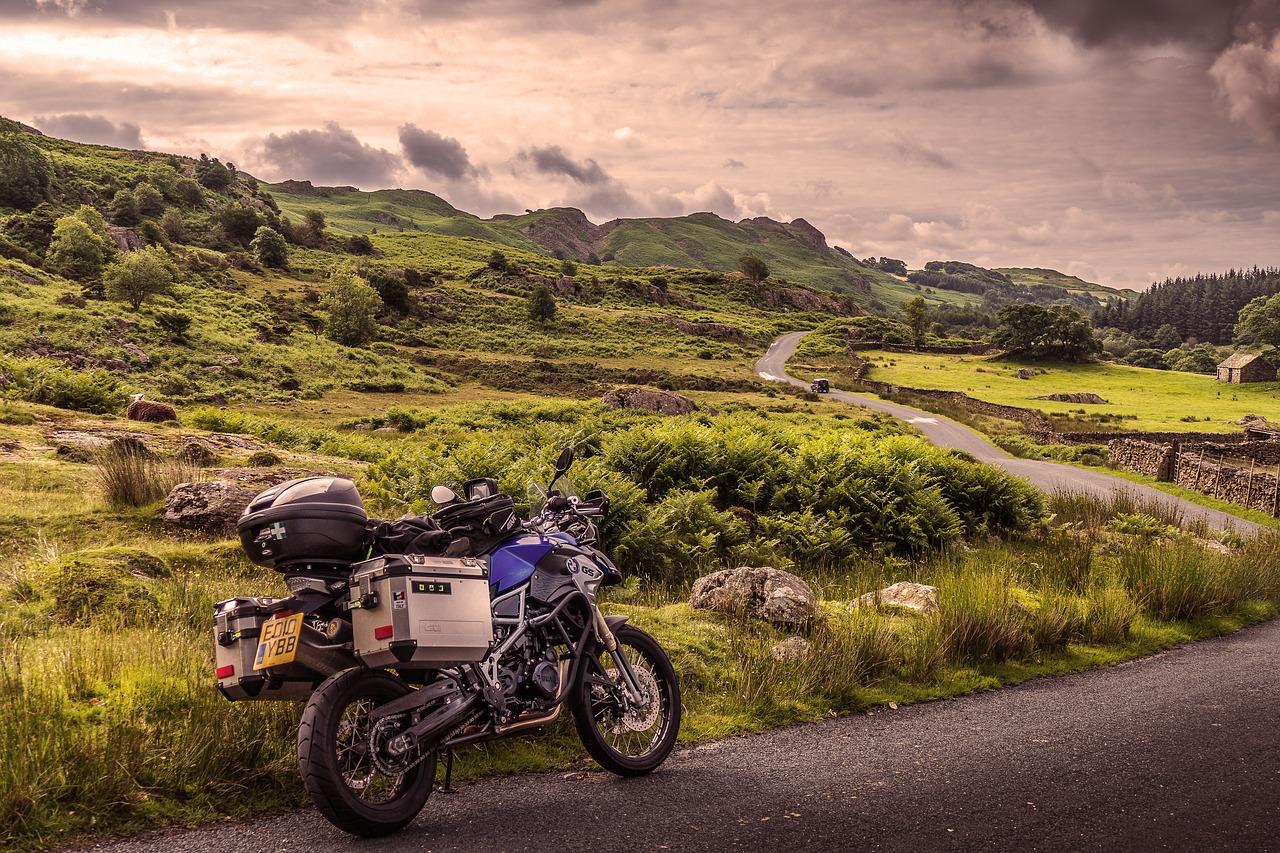 Viaggiare in moto in Europa